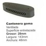 CANTONERA NEGRA 2,8cm Mod.CA04
