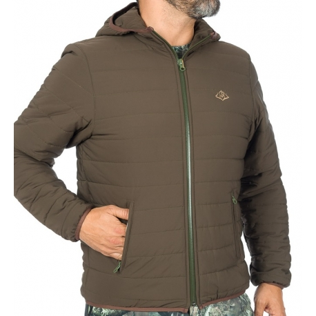 CHAQUETA PLEGABLE VERDE THINSULATE