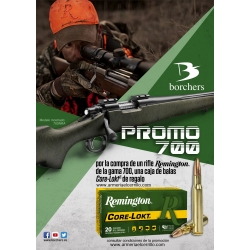 PROMOCION RIFLE REMINGTON 700 CAJA BALAS