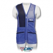CHALECO 52 RED TRAP CBC AZUL