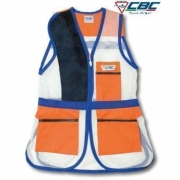 CHALECO 50 RED TRAP CBC NARANJA AZUL