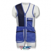 CHALECO 50 RED TRAP CBC AZUL BLANCO