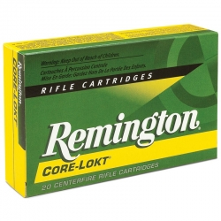 REMINGTON 7mm Rem Mag CORE LOKT PSP 150gra