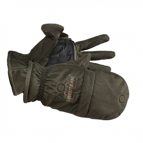 GUANTES MANOPLA SWEDTEAM GREEN