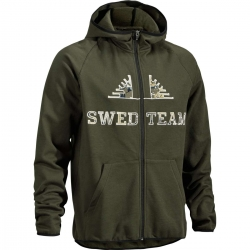 SUDADERA SWEDTEAM CAPUCHA FULL ZIP HOOD