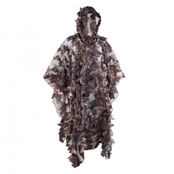 PONCHO SWEDTEAM WOOD LEAF CAMO