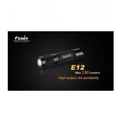 MINI LINTERNA LED FENIX E12 130LUM 3mod
