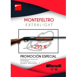 PROMOCION BENELLI MONTEFELTRO EXTRALIGHT