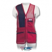 CHALECO 50 RED TRAP CBC ROJO