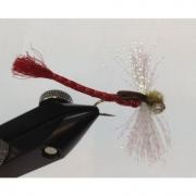 LIBELULA DRAGON FLY ROJO 6