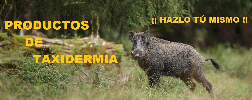 HAZ TU TAXIDERMIA, PRODUCTOS PARA TAXIDERMIA, PRODUCTOS TAXIDERMISTAS